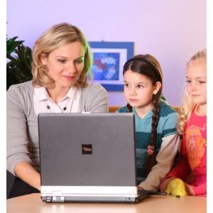 Trudności w czytaniu, zagrożenie dysleksją - pakiet z laptopem!