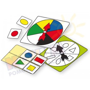 Kształty i kolory - gra loteryjna