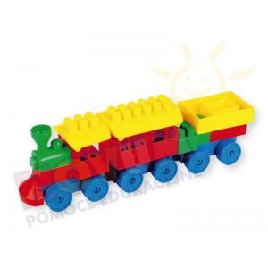Pociąg K2 - 3 elementy