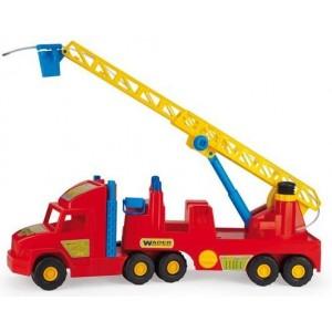 Super truck straż pożarna WADER