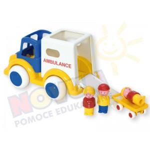 Ambulans z 3 figurkami