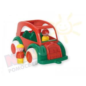 Taxi z 2 figurkami