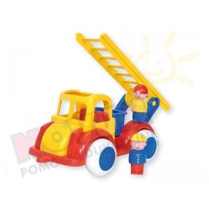 Straż pożarna z 2 figurkami