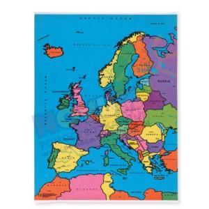 Dywanik - Mapa polityczna Europy