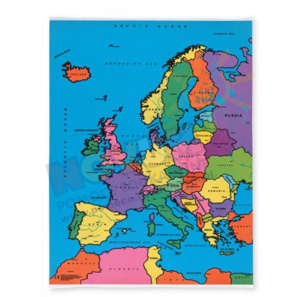 Dywanik Mapa Polityczna Europy Dywany Sklep
