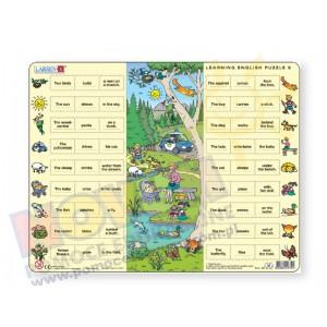 Puzzle do nauki angielskiego - park