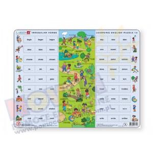 Puzzle do nauki angielskiego - czasowniki nieregularne 2