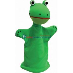 Żaba - pacynka