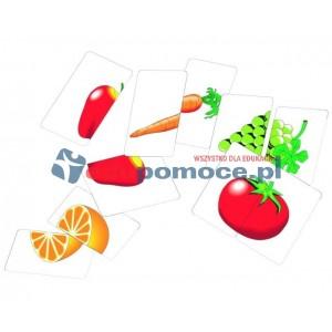 Warzywa i owoce - połówki