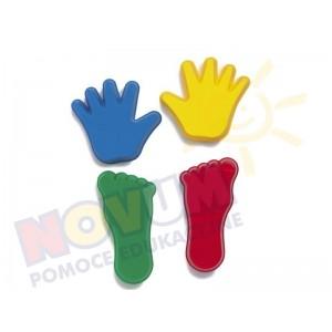 Ręka i noga - foremki