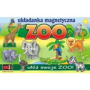 Zoo - układanka magnetyczna