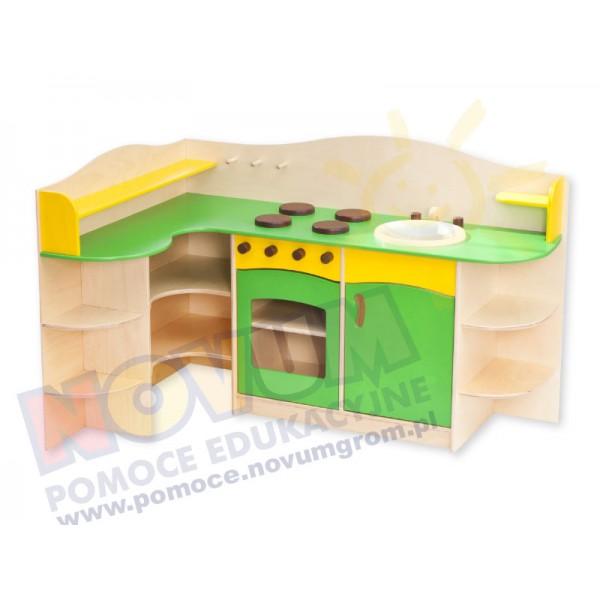 Kuchnia rogowa sklejkowa  Kąciki zabaw  Sklep  -> Kuchnia Rogowa Meble
