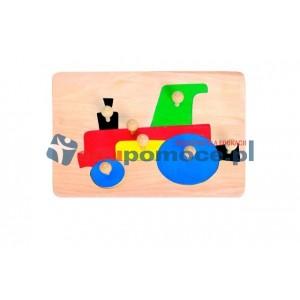 Traktor - nakładanka