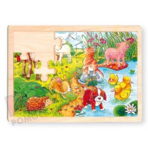 Zwierzątka - puzzle