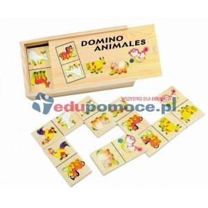 Zwierzęta z farmy - domino