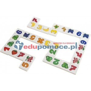 Cyferki - domino