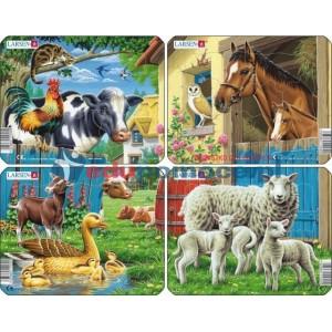 Gospodarstwo domowe - mini puzzle