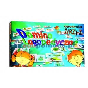 Domino logopedyczne Ż(RZ)-Z