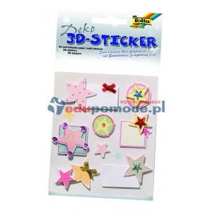 Gwiazdki - naklejki 3D