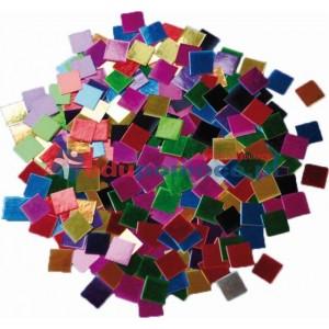 Metaliczna mozaika papierowa, 250 gram