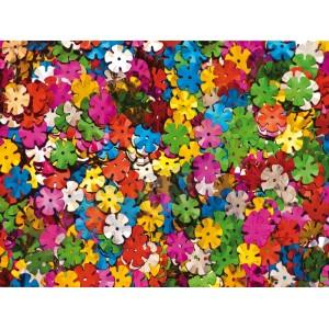 Metaliczne kwiatki