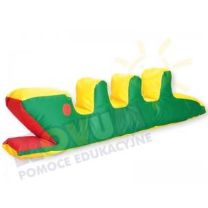 Krokodyl z granulatem