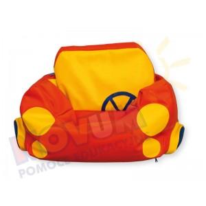 Samochód - fotel z granulatem