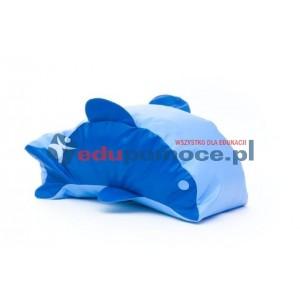Delfin - fotel z granulatem