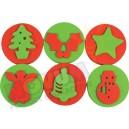 Boże Narodzenie - maxi stemple piankowe
