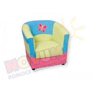 Minikomplet wypoczynkowy MOTYLEK - fotel