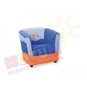 Fotel - minikomplet wypoczynkowy RYBKA