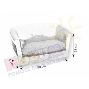 Minikomplet wypoczynkowy RYBKA - kanapa podwójna