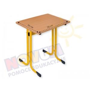 Stolik pojedynczy typu MST wysokość 64 cm