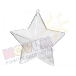Transparentna gwiazdka