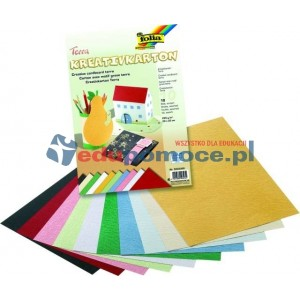Papier  tłoczony - wzór terakota