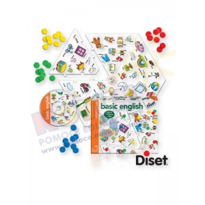 Puzzle w sześciokącie - Słówka - Diset