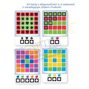 Logiczne tablice - kolory i kształty