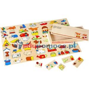 Połówki - domino