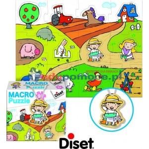Zwierzęta - Makropuzzle