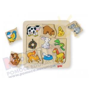 Puzzle - Czym żywią się zwierzęta?