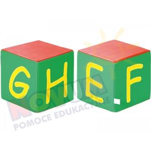 Kostki piankowe Alfabet - EFGH