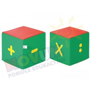 Kostki piankowe Cyfry - znaki matematyczne