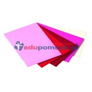 Papier tłoczony - wzór serduszka