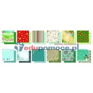 Święta - zestaw kolorowego papieru