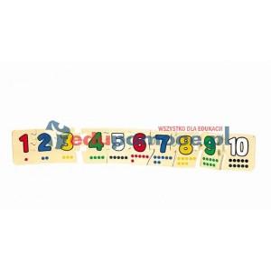 Puzzle liczbowe 1-10