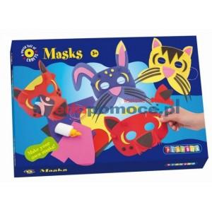 Maski - zestaw kreatywny