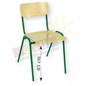 Krzesełko Novum rozmiar 5 wys.43cm