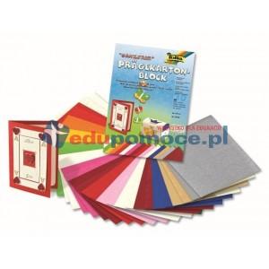 Blok papieru kolorowego, tłoczonego