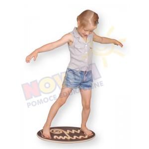Platforma równoważnia - owal
