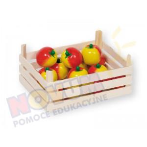 Jabłuszka w skrzynce